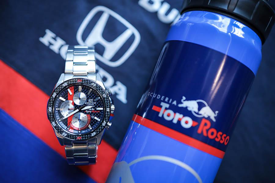CASIO Edifice x Scuderia Toro Rosso