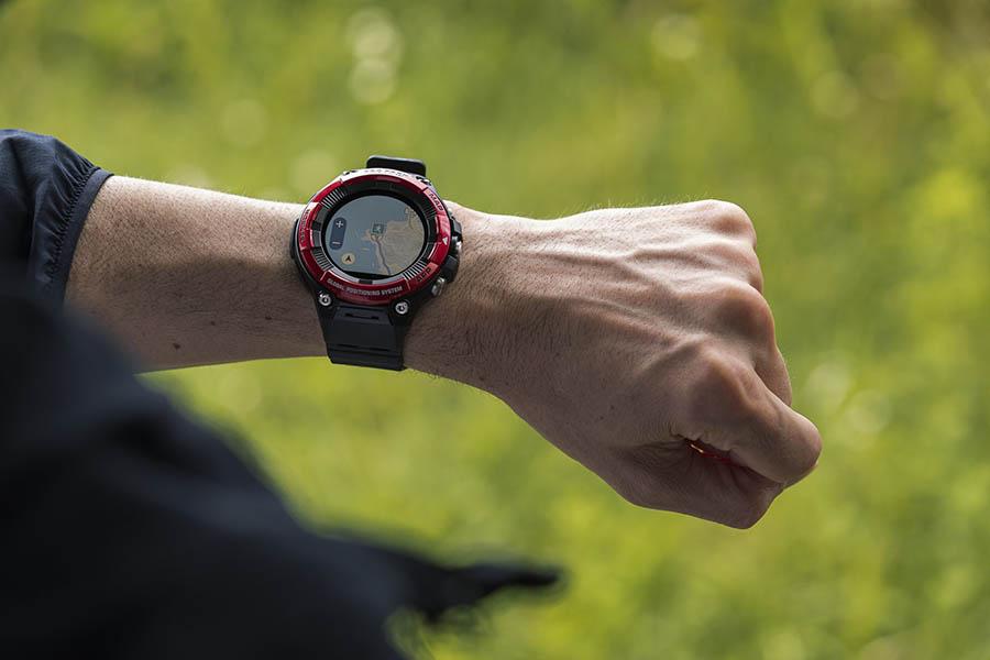 CASIO Smartwatch PRO TREK WSD-F21HR