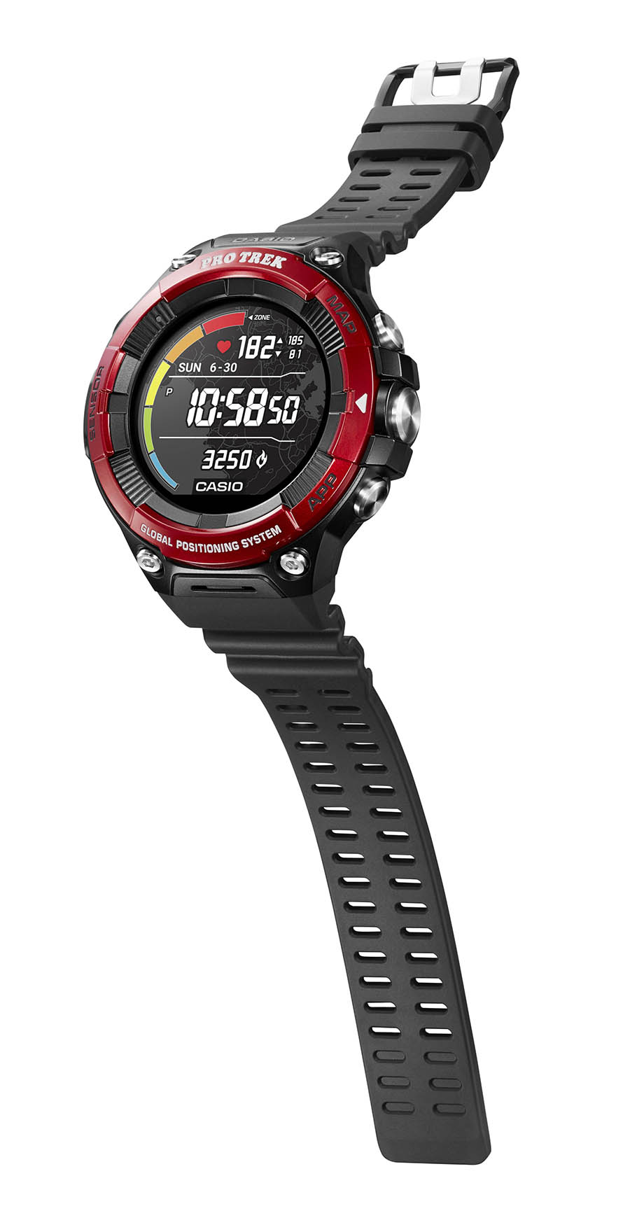 CASIO Smartwatch PRO TREK WSD-F21HR