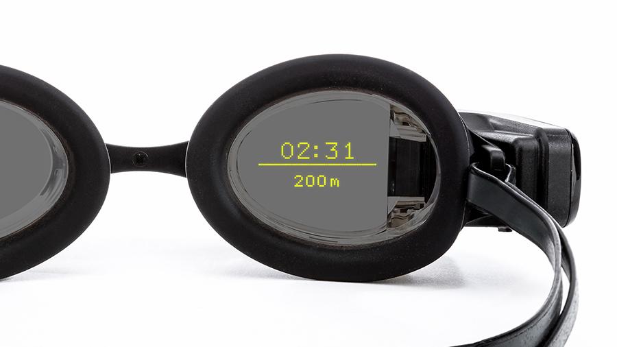 Lunettes de natation réalité augmentée FORM Swim Goggles