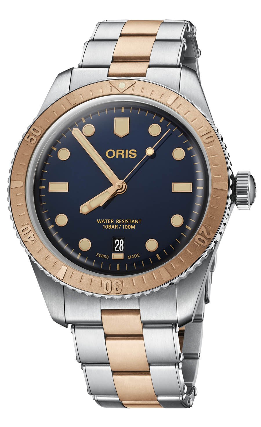 Oris Divers Sixty-Five Bicolore