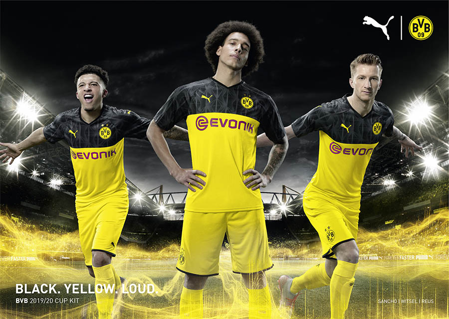 PUMA Football x Borussia Dortmund Kit Cup 2019-2020