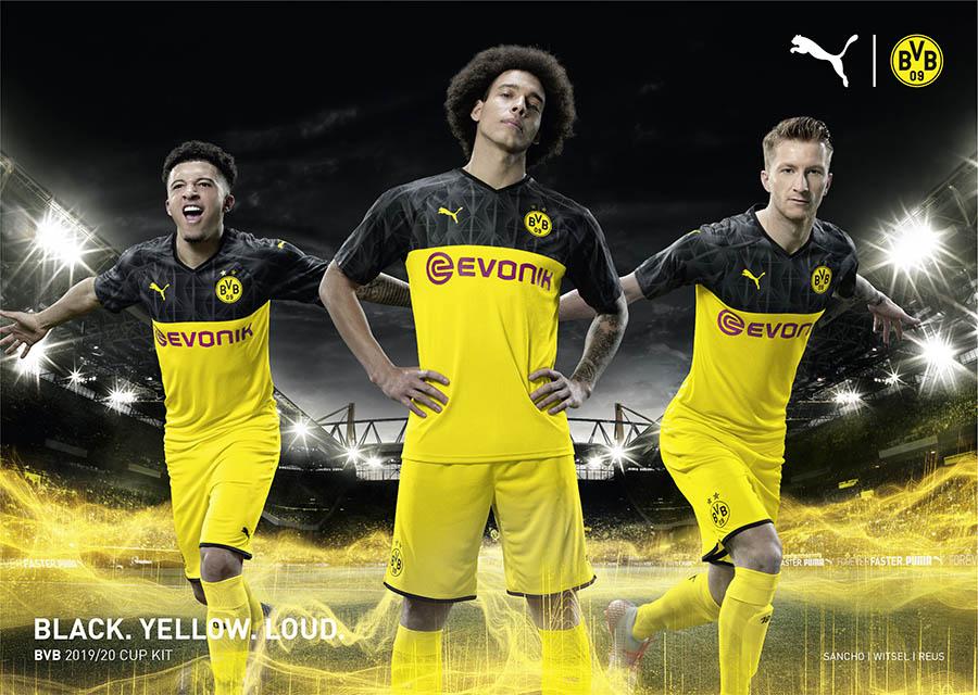 PUMA Football x Borussia Dortmund Kit Cup 2019-2020
