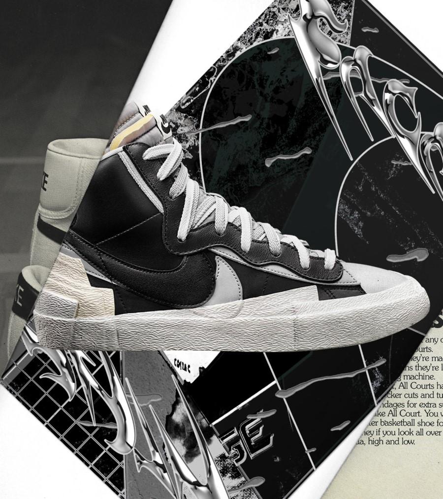 Sacai x Nike Running Blazer 0