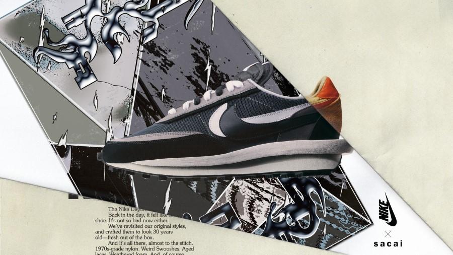 Sacai x Nike Running LDWaffle