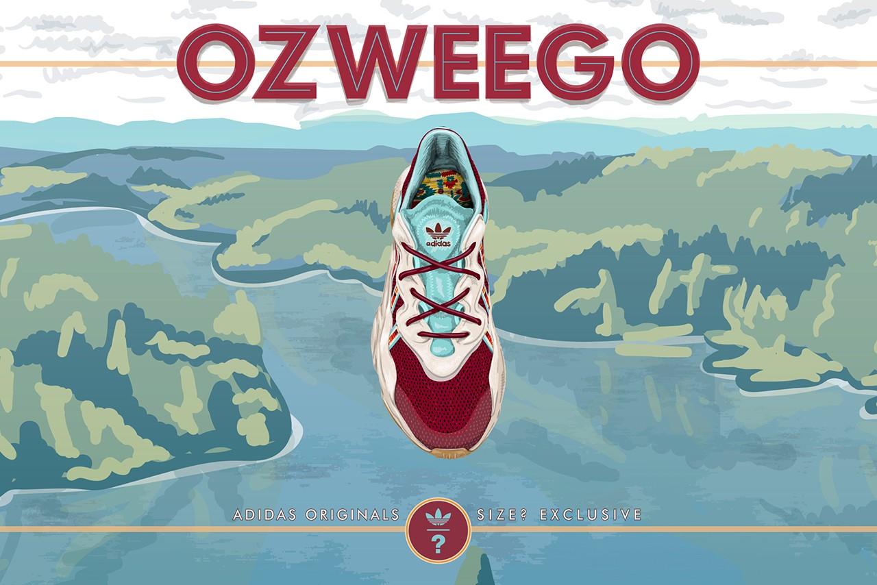 size x adidas Originals Ozweego