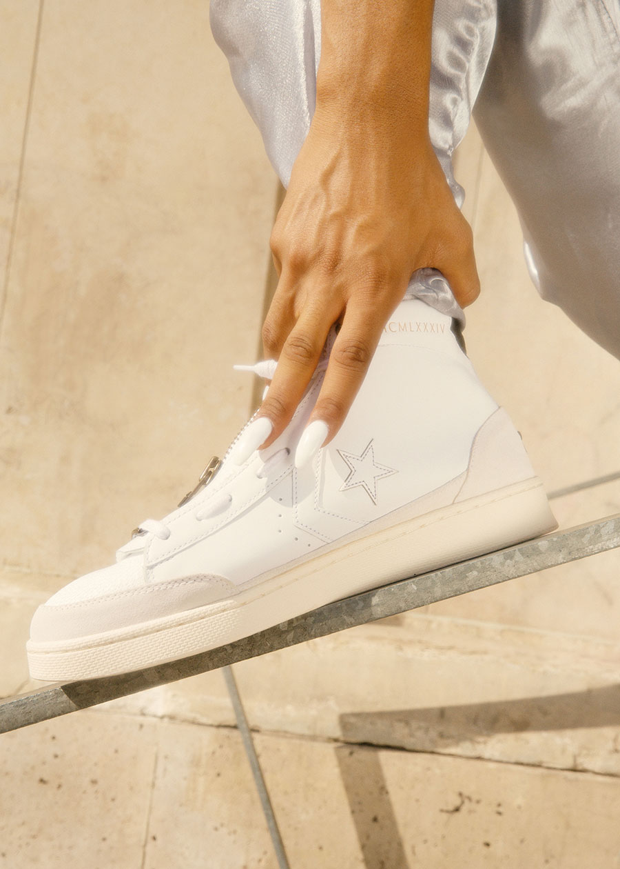 converse pro leather homme