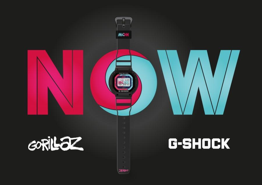 G-SHOCK x GORILLAZ - 2nd Collaboration