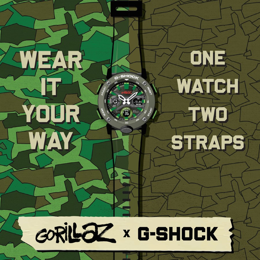 G-SHOCK x GORILLAZ - 2nd Collaboration