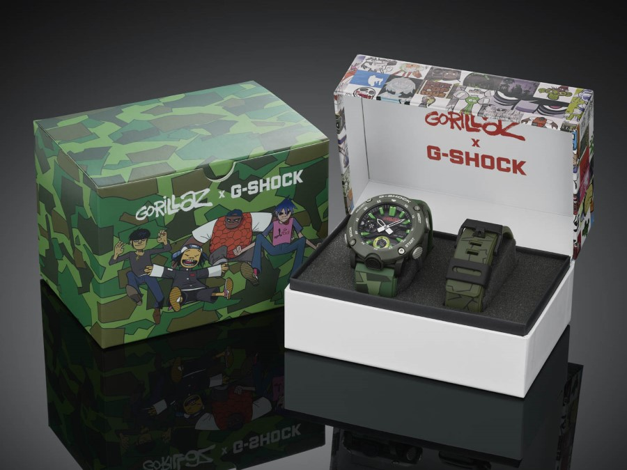 G-SHOCK x GORILLAZ GA-2000 - 2nd Collaboration 2019