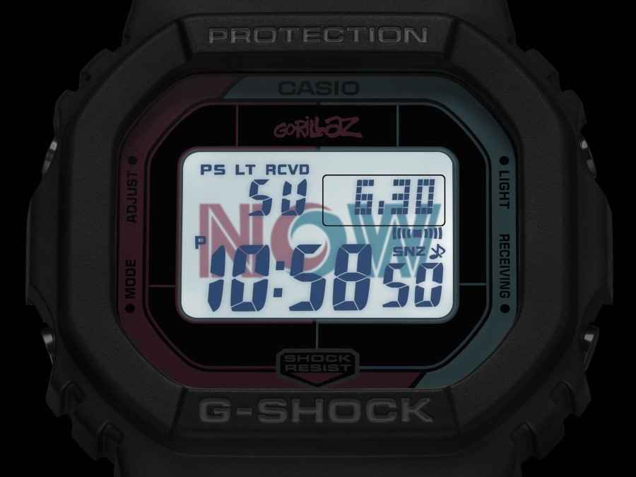 G-SHOCK x GORILLAZ GW-B5600 - 2nd Collaboration 2019