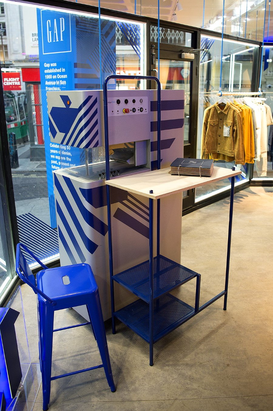 GAP 50 ans de Denim - Pop-up shop Londonien