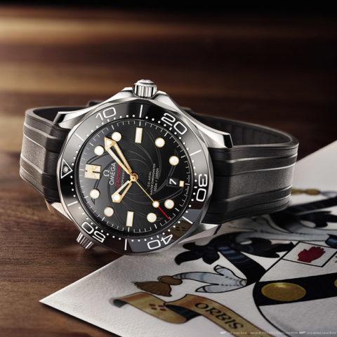 OMEGA Seamaster Diver 300M - James Bond