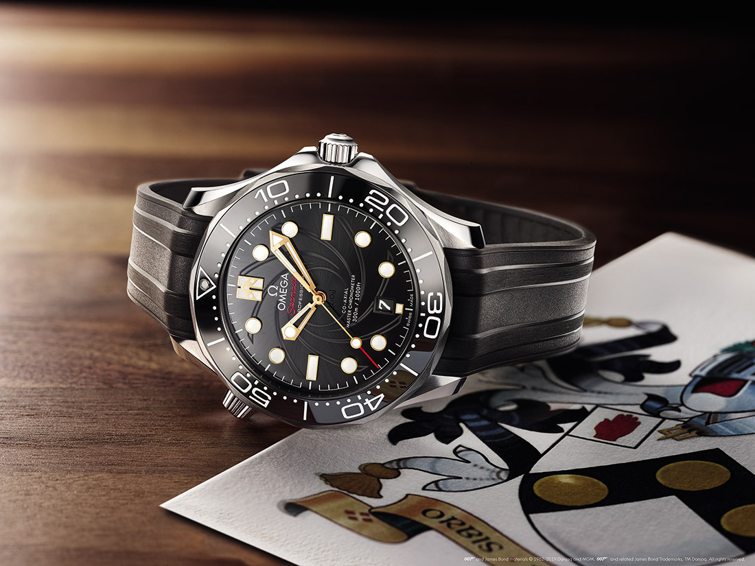 OMEGA Seamaster Diver 300M - James Bond