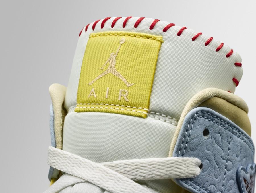 Air Jordan I mid SE Fearless x Maison Château Rouge