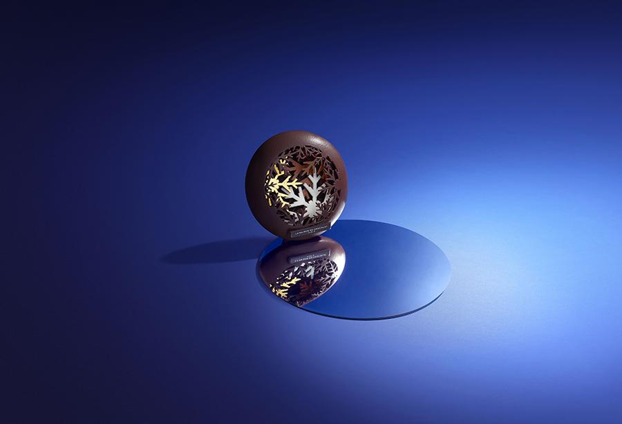 Bûches de Noël 2019 - La Maison du Chocolat - Flocon Éternel