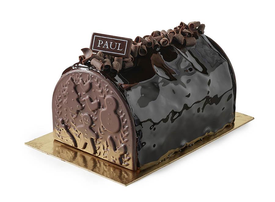 Bûches de Noël 2019 - PAUL Bûche Chocolat