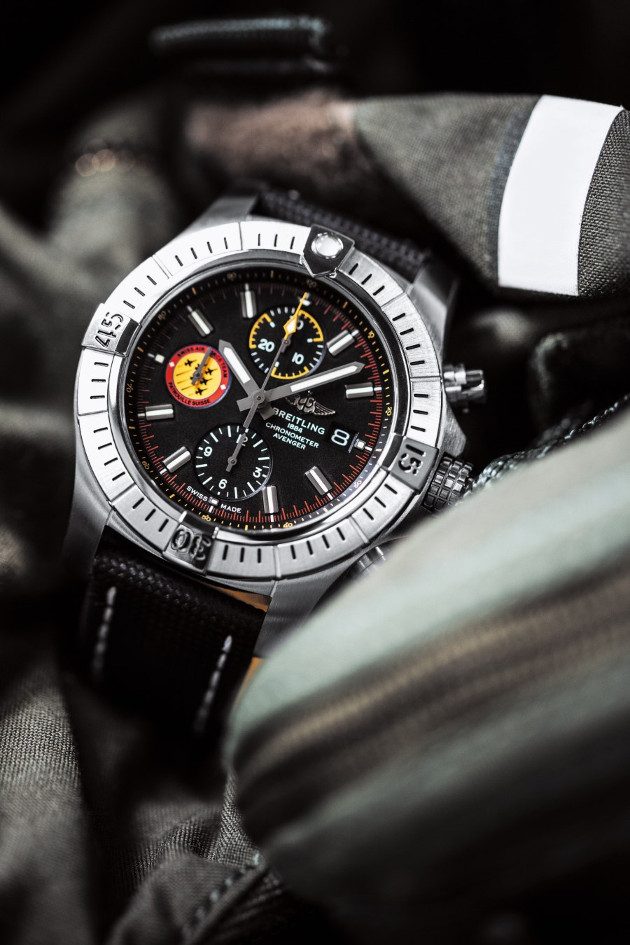 Breitling Avenger Collection - Breitling Avenger Swiss Air Force Team Limited Edition
