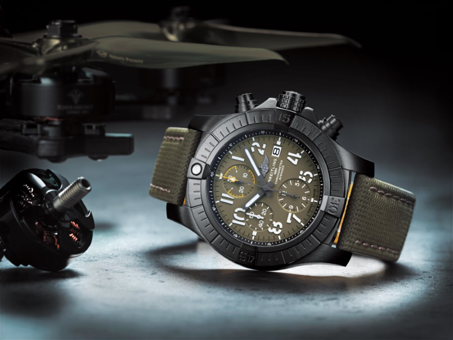 Breitling Avenger Collection - Chronograph 45 Night Mission