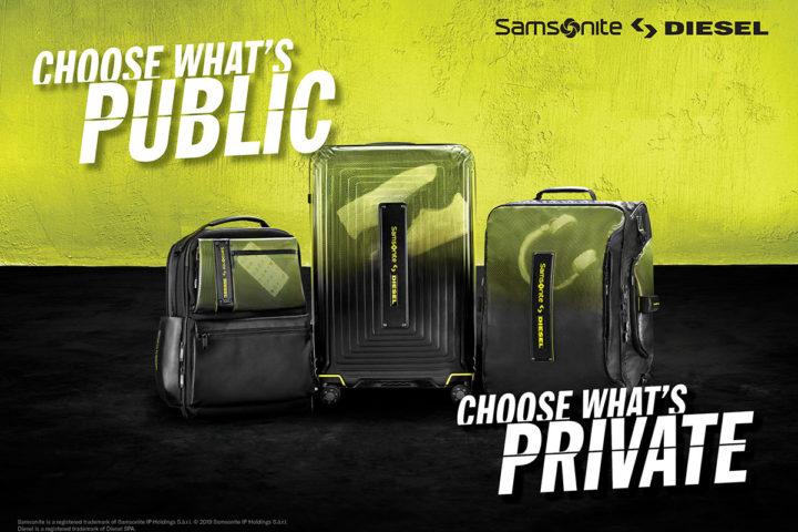 Samsonite x Diesel