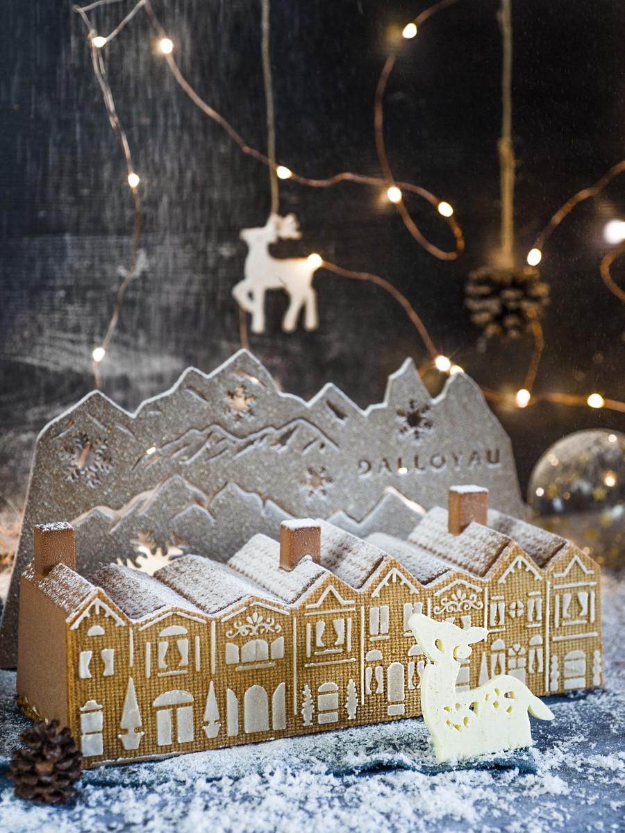 Bûche de Noël 2019 - Dalloyau