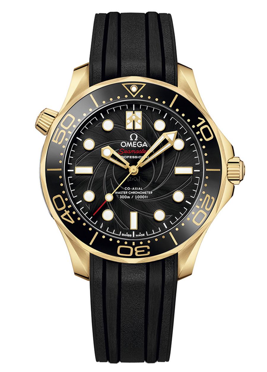 OMEGA Seamaster Diver 300M x James Bond