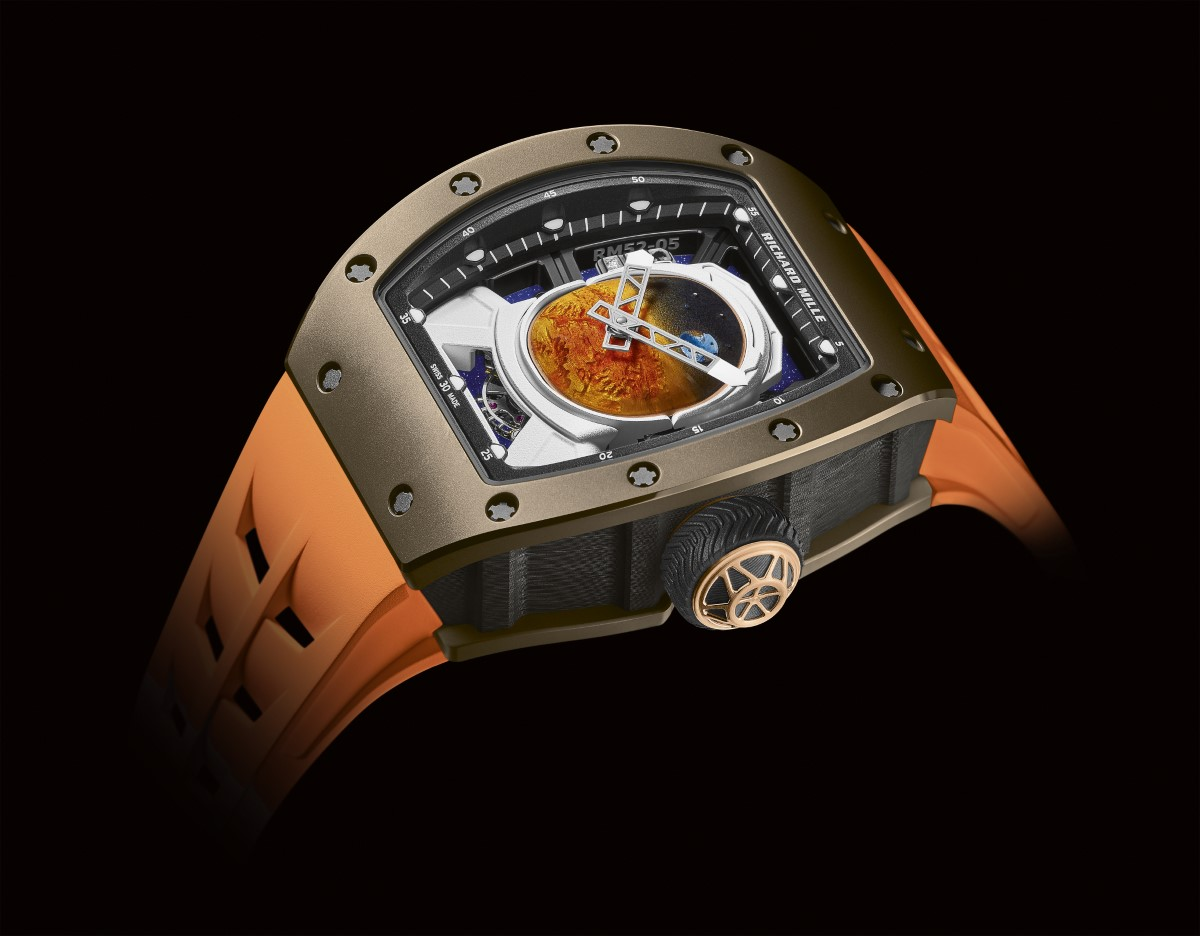Pharrell Williams x Richard Mille RM 52-05 Tourbillon
