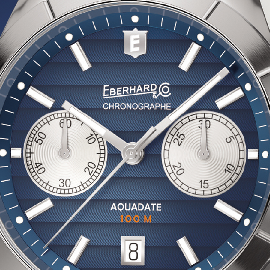 Eberhard & Co. Aquadate Chrono