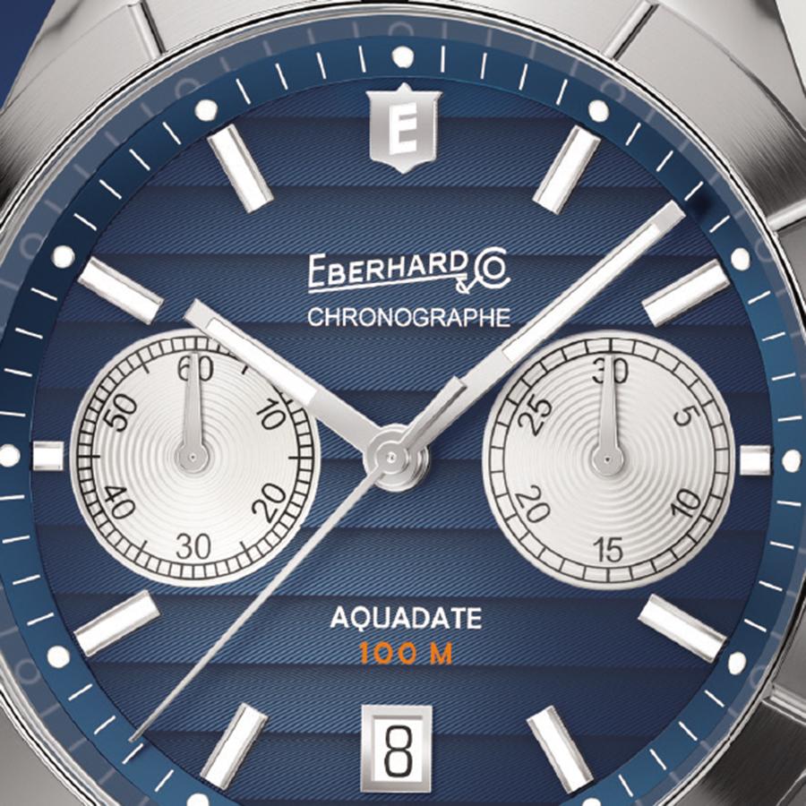 Eberhard & Co. Aquadate Chrono