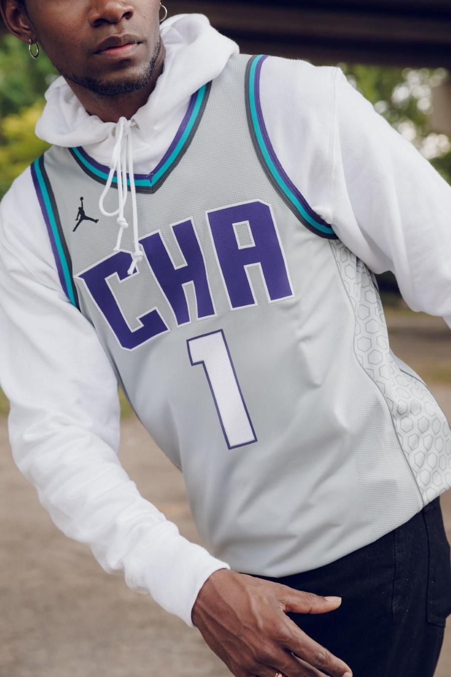 NBA Nike City Edition - Charlotte Hornets