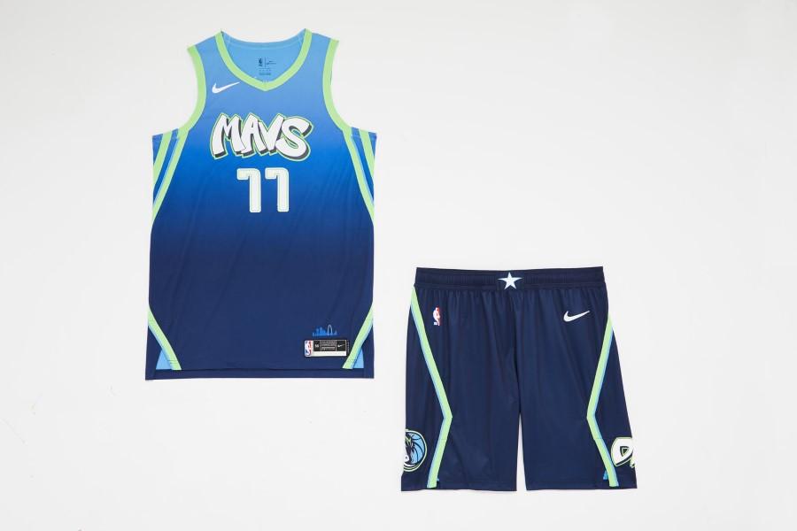 NBA Nike City Edition - Dallas Mavericks
