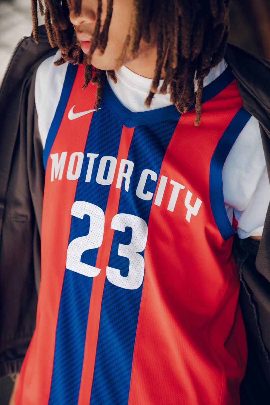 NBA Nike City Edition - Detroit Pistons