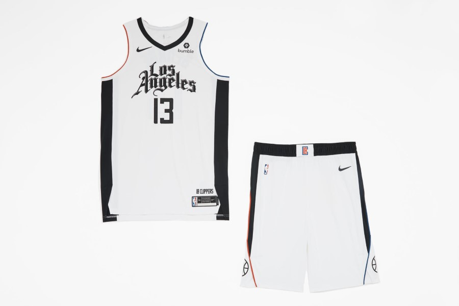 NBA Nike City Edition - Los Angeles Clippers