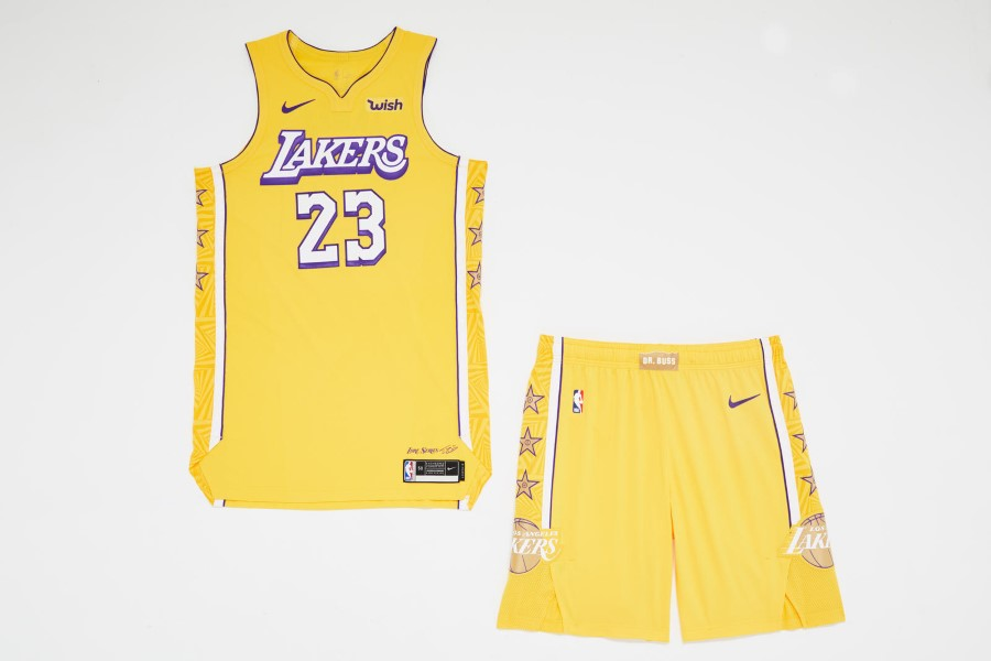 NBA Nike City Edition - Los Angeles Lakers