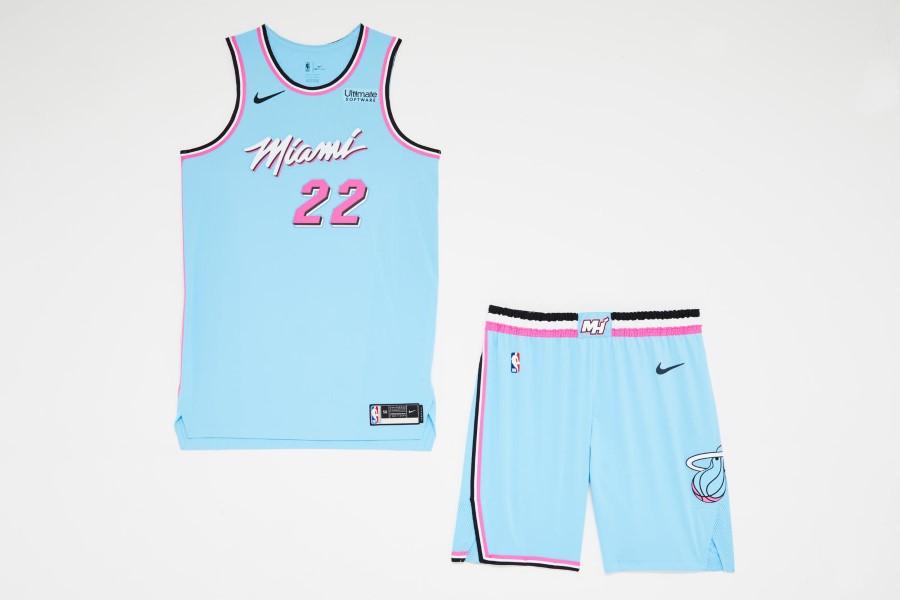 NBA Nike City Edition - Miami Heat