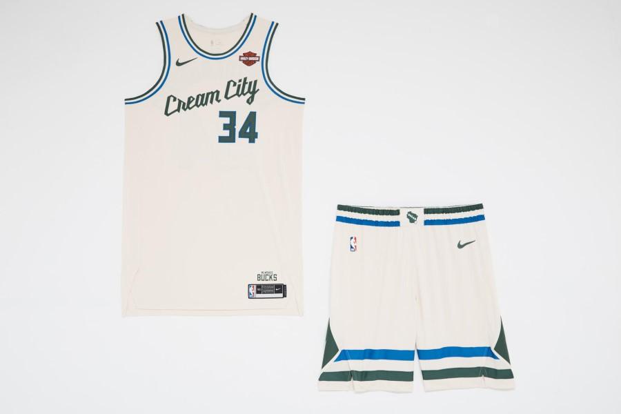 NBA Nike City Edition - Milwaukee Bucks
