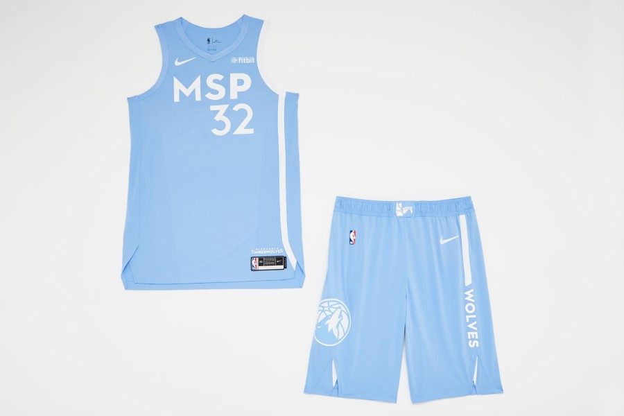 NBA Nike City Edition - Minnesota Timberwolves