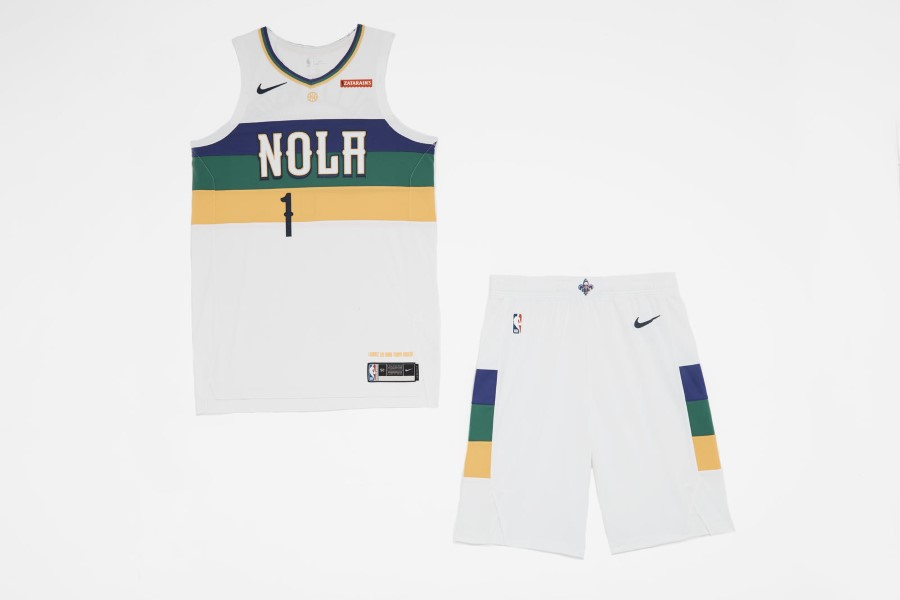 NBA Nike City Edition - New Orleans Pelicans
