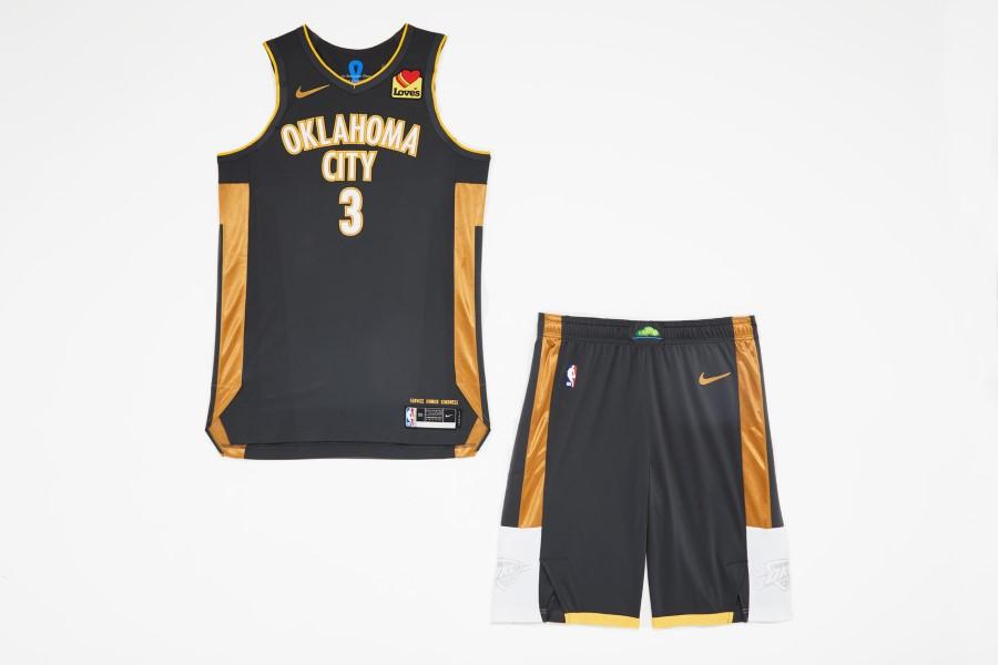 NBA Nike City Edition - Oklahoma City Thunder