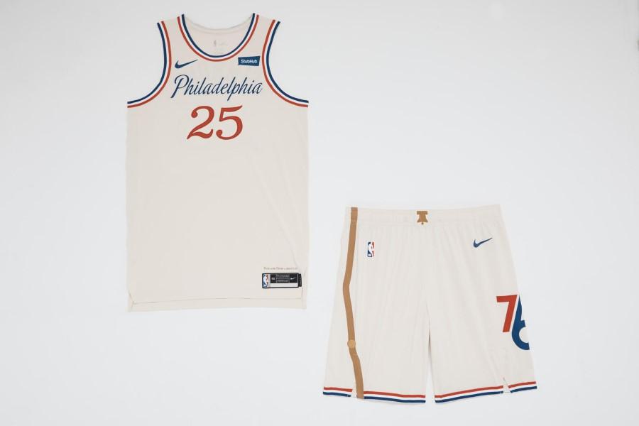 NBA Nike City Edition - Philadelphia 76ers