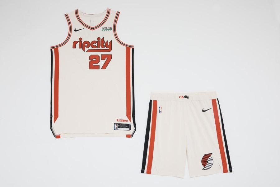NBA Nike City Edition - Portland Trailblazers