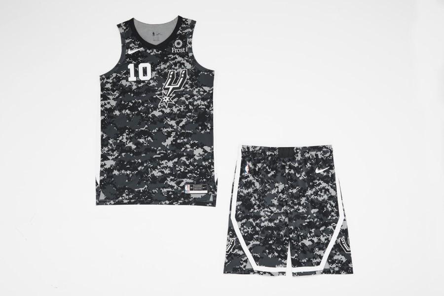 NBA Nike City Edition - San Antonio Spurs