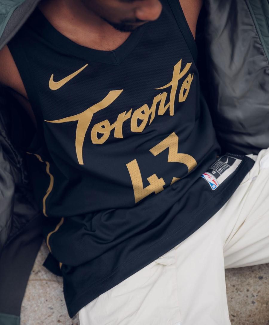 NBA Nike City Edition - Toronto Raptors