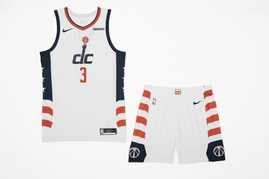 NBA Nike City Edition - Washington Wizards