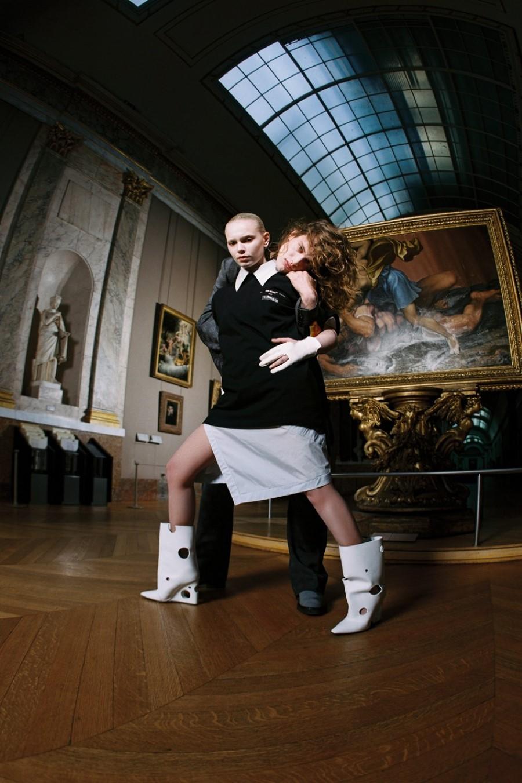 Off-White x Musée du Louvre - Léonard de Vinci