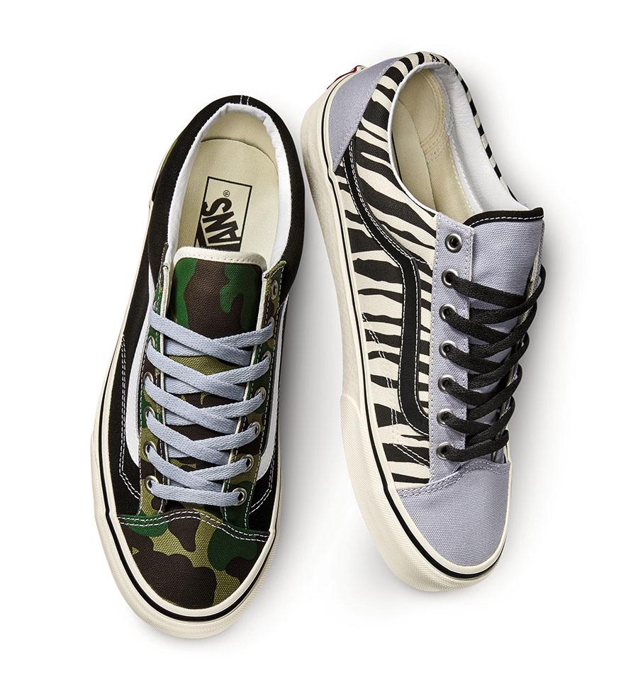 chaussure nouveau ne vans