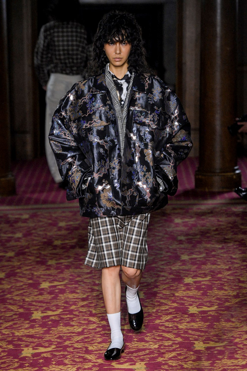 Edward Crutchley - Automne-Hiver 2020-2021 - London Fashion Week Men's