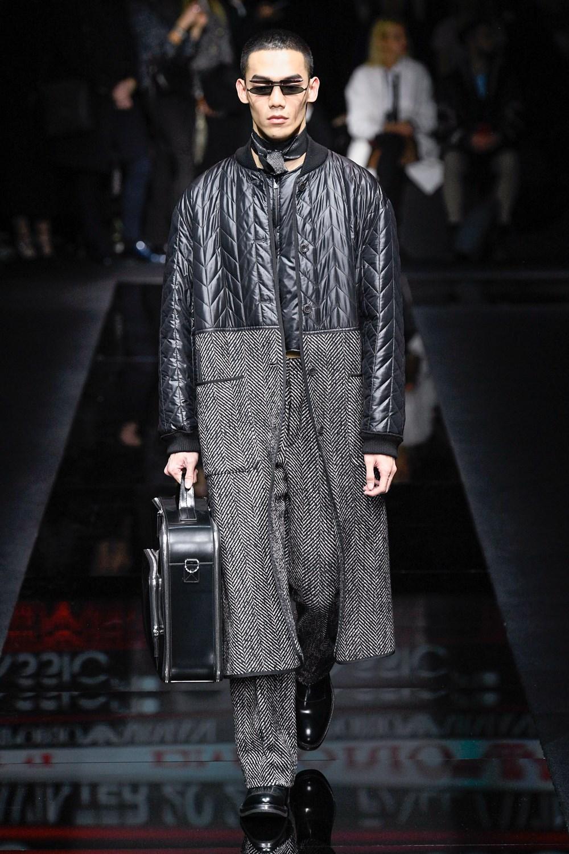 Emporio Armani - Automne-Hiver 2020-2021 - Milan Fashion Week