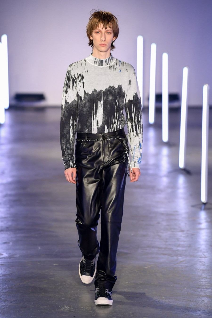 Feng Chen Wang Automne Hiver 2020 2021 London Fashion Week Mens 3