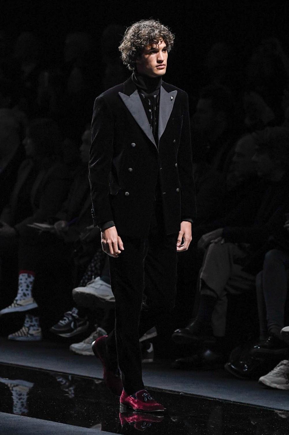 Giorgio Armani - Automne-Hiver 2020-2021 - Milan Fashion Week